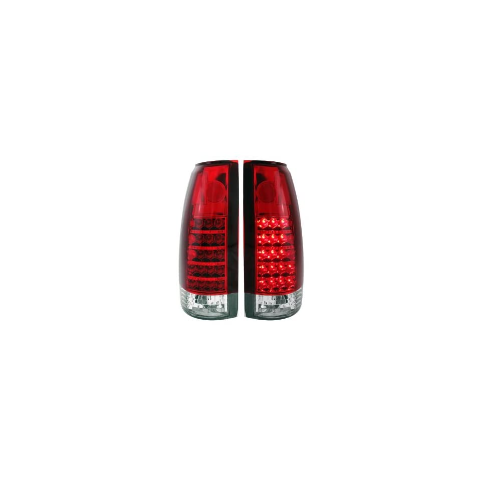 Anzo USA 311057 GMC Red/Clear LED Tail Light Assembly   (Sold in Pairs)