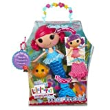 MGA Lalaloopsy Sew Magical Mermaid Doll - Coral Sea Shells With Tail Pet Blowfish Squirts Water