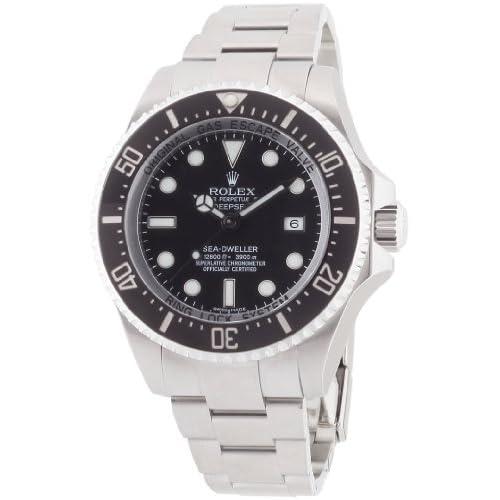 [ロレックス]ROLEX シードゥエラー ディープシー 3900m防水 ブラック文字盤 SS 腕時計 Ref.116660 メンズ 【並行輸入品】