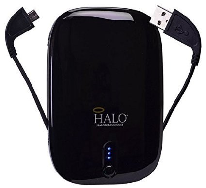 Halo Pocket Power 5500 Universal Power Charger (Black)