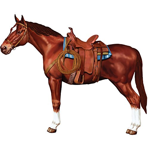 Jointed Horse Party Accessory (1 count) (1/Pkg)