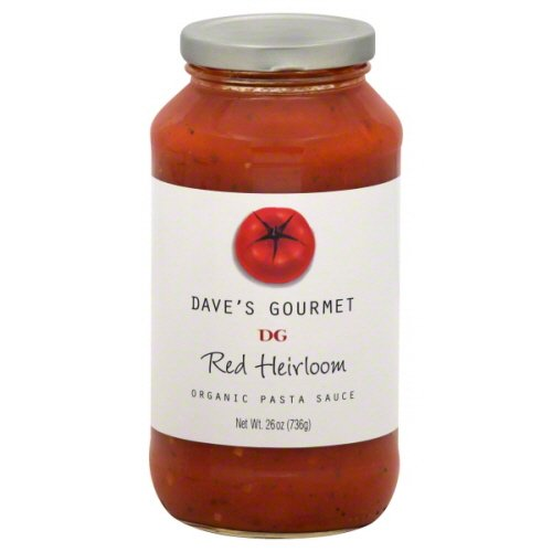 DAVES GOURMET SAUCE PSTA RED HEIRLOOM, 25.5 OZ (Daves Gourmet Pasta Sauce compare prices)