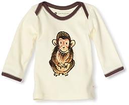 Babysoy Janey Baby Lounge Tee, Chimp, 18-24