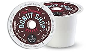 Coffee People Donut Shop Coffee, Regular Medium Roast, K-Cup Portion Pack for Keurig Brewers 96-Count