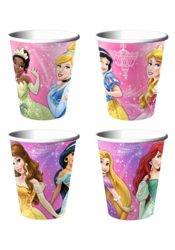 Disney Very Important Princess Dream Party 9 Oz Cups 8 Ct - 1