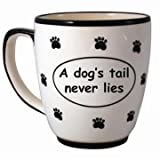 Tumbleweed 'A DOG'S TAIL NEVER LIES' Pet Coffee Mug