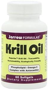 Jarrow Formulas Krill Oil 60 Count Pack of 2 from jarrow formulas