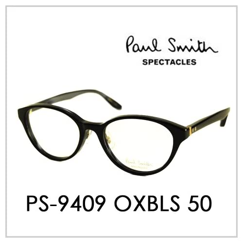 PAUL SMITH ポールスミス  メガネフレーム サングラス 伊達メガネ 眼鏡 PS-9409 OXBLS 50 PAUL SMITH専用ケース付 スペクタクルズ
