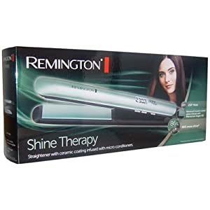 REMINGTON PEARL ULTIMATE SHINE THERAPY CERAMIC HAIR STRAIGHTENER 9 settings 150°C - 230°C from REMINGTON