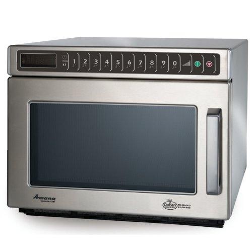 Amana Hdc12A Compact Commercial Microwave - Heavy Duty 1200 Watts, 120V