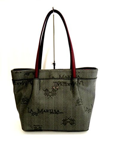 BORSA LA MARTINA RECONQUISTA LADY SHOPPING BAG 354 007 (NERO)