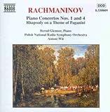 Rachmaninoff: Klavierkonzerte 1 und 4