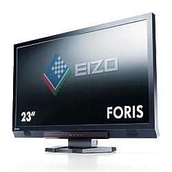 ナナオ FORIS 23.0インチ TFTモニタ 1920x1080 DVI-D24ピンx1 D-Sub15ピンx1 HDMIx2 ブラック FS2333