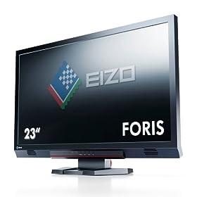 EIZO FORIS 23.0�C���` TFT���j�^ 1920x1080 DVI-D24�s��x1 D-Sub15�s��x1 HDMIx2 �u���b�N FS2333
