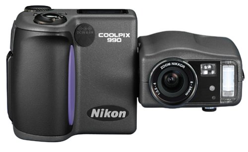 Nikon Coolpix 990 3.34MP Digital Camera w/ 3x Optical Zoom