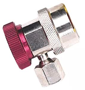 Robinair (18191A) R-134a High Side Service Coupler with Red Actuator