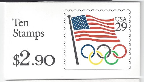 1991 Olympic Flag Booklet of 10 MNH Stamps Scott #BK186