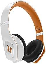Noontec MF3122(B) Zoro HD II - Auriculares de diadema cerrados, Blanco y naranja