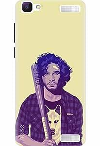 Designer Printed Mobile Back Cover & Case For Vivo V1 - By Noise