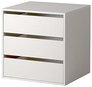Cassettiera interna armadio 3 cassetti accessorio legno for Armadio amazon