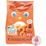 Corn Snack with Milk Caramel & Roasted Almonds - Caramel Corn - By Tohato From Japan 80g
