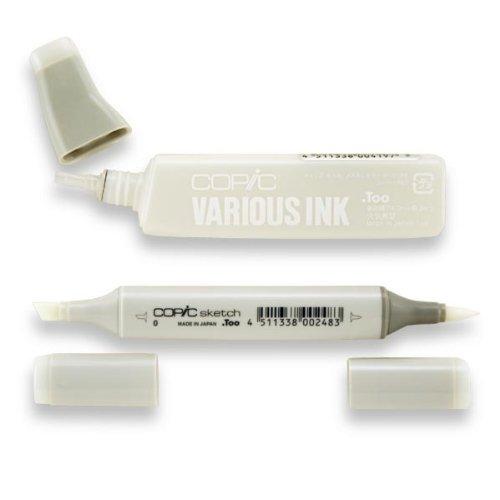 Copic Sketch Marker 0 Colorless Blender W/Ink front-140048