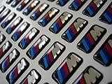 #1: 12 BMW M tec Aufkleber m3 m5 e46 e60 e36 sticker embleme logo felgen