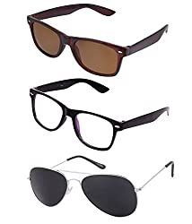 Lime Offers Combo Of 3 Sunglasses