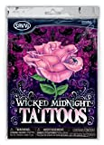 Wicked Midnight girls/boys temporary tattoos - 50+ tattoos in each pack.
