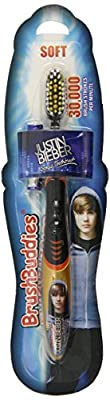 Brush Buddies 00319-72 Justin Bieber Sonic Toothbrush