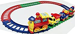 Cartoon Play Train Set