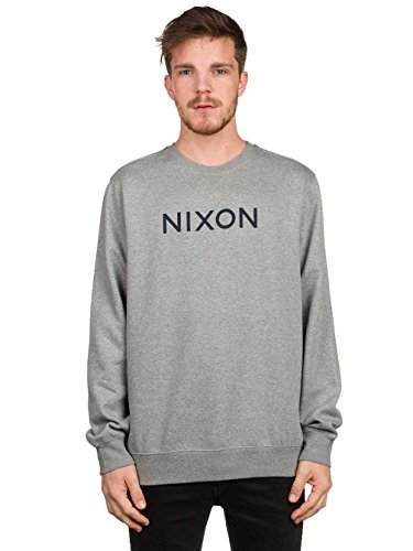 Nixon -  Felpa  - Uomo heather gray/gris L
