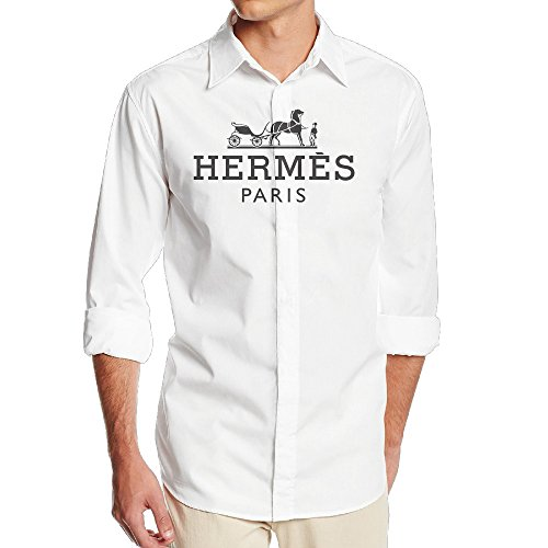 hermes-hipster-paris-ptcy-mens-funny-long-sleeve-button-down-shirts-sizem-white
