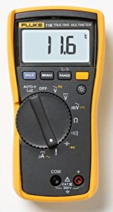 Fluke 116 HVAC Multimeter with Temperature and Microamps