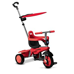 Smart Trike 3-in-1 Carnival Trike (Red)