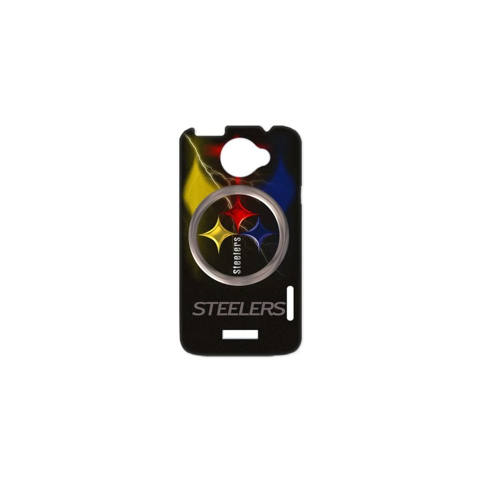 Ashley Device The Gift For Christmas HTC One X Phone Best Durable Case Personalized Design For NFL Pittsburgh Steelers Team Cell Phones & Accessories