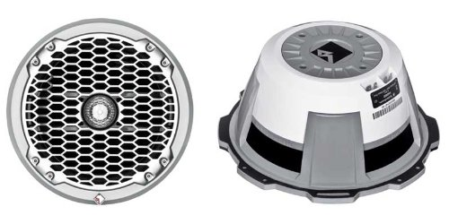 Rockford Fosgate M2 M282 Marine-Grade 8-Inch Coax Component Speakers, Pair (White) (Discontinued by Manufacturer)