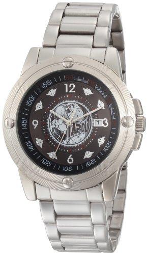 TapouT Men's EL-BK Quartz Black Watch