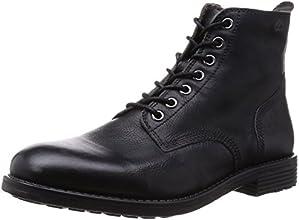 Clarks Faulkner Rise, Boots homme - Noir (Black), 42 EU (8 UK)