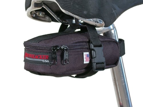 Bushwhacker Butte Black- Tool and Tire Bag - Under Seat Bike Bag