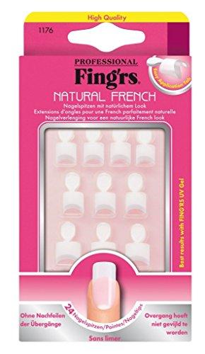 Fing'rs - 1176 - unghie finte - 24 Nail naturali Consigli per Estendere il unghie naturali