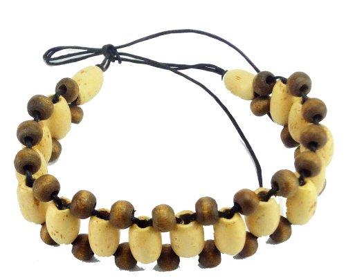 Handmade bracelet wood in Thailand