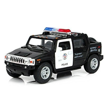 Diecast Cars Hammer H2 SUT Police Toy Cars 1:40 (Police Car Doors Open compare prices)