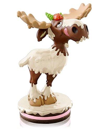 Hallmark 2014 Limited Edition White Chocolate Moose Ornament