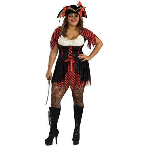 Pirate Girl Costume - Queen - Dress Size 18-20