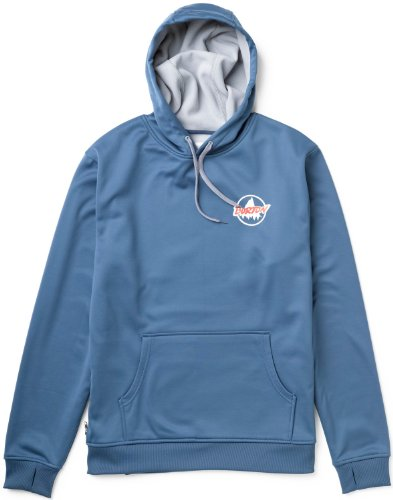Burton Crown Pullover Bonded Hoodie Team Blue Mens Sz L
