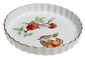 Royal Worcester Evesham Gold Porcelain 10-Inch Quiche Dish