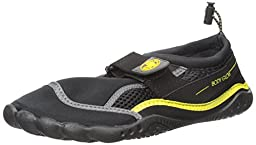 Body Glove Seek Water Shoe (Little Kid/Big Kid), Black/Yellow, 13 M US Little Kid