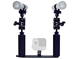 Bigblue GP450 Kit - Tray and Arms for GoPro and AL450W lights
