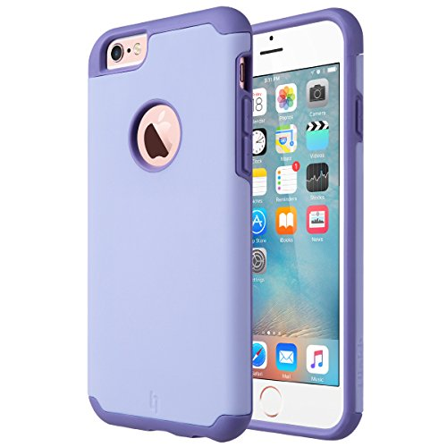 iPhone 6 Case, [Slim Fit] ULAK Sugar Candy [Anti-Slip] Drop Protection with Shock Absorbent [Hybrid PC & Silicone Case] Cover for Apple iPhone 6s / 6 - [Purple] (Protective Iphone 6 Case Silicone compare prices)